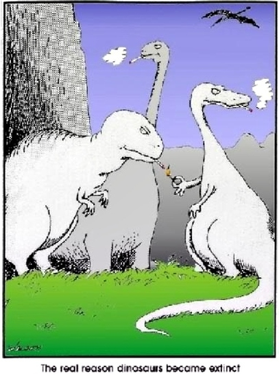 smoking dinosaurs comic